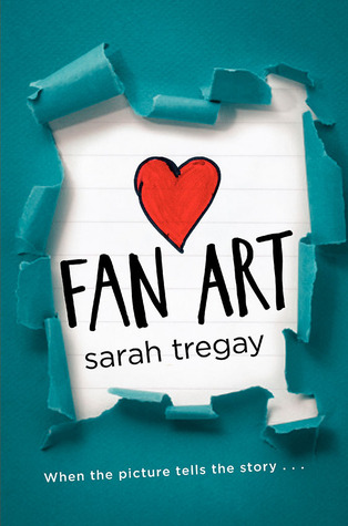 The cover is peeling green paper revealing the title of the book on blue-lined notebook paper with a red heart.