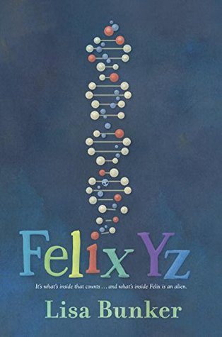 A dark cover with a DNA molecule