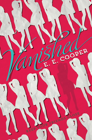 A red cover with paper doll style cut outs of a girl in a skirt with one hand on her head.
