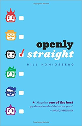 Blue cover.  On the left are six computerized faces with blank check boxes next to them.  Each face is a different color in the rainbow order.  All the faces have interesting features like sunglasses, mustaches, mohawks.  The most quote unquote normal face is checked off.