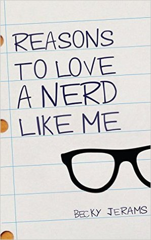The cover is a piece of lined notebook paper with the title written on it.  Underneath the title is a drawing of black rimmed glasses