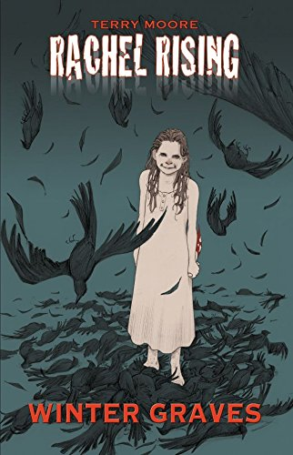 a creepy ghost girl wanders in the woods with dead and dying birds surrounding her.
