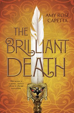 Book cover showing a sword with feather as blade.
