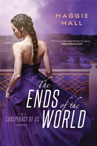 Book cover showing a girl in a formal purple dress.