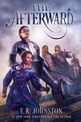 Book cover showing five warrior girls.
