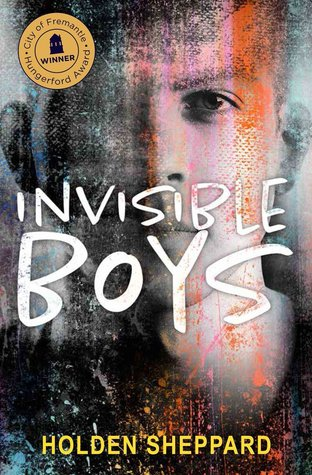 Book cover showing a boy's face, partially smudged.