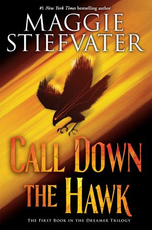 Book cover showing a hawk streaking downwards in a shaft of light.
