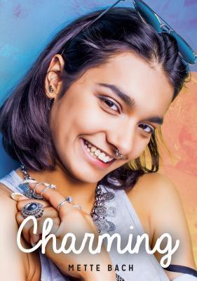 Book cover showing brown-skinned girl with nose ring and jewelry smiling.