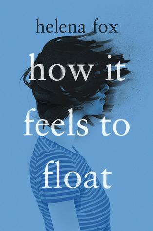 Book cover showing girl with her hair blowing forward.