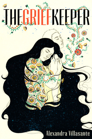 Book cover showing woman cradling an object, night sky in her hair.