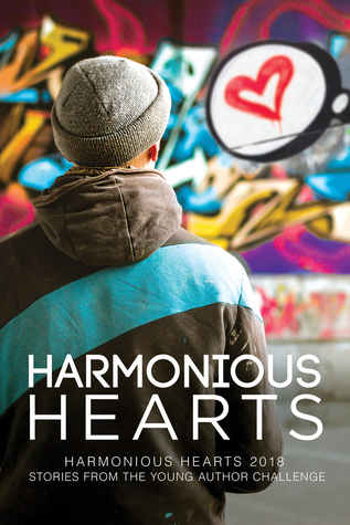 Book cover showing a person in hat and jacket facing graffiti.