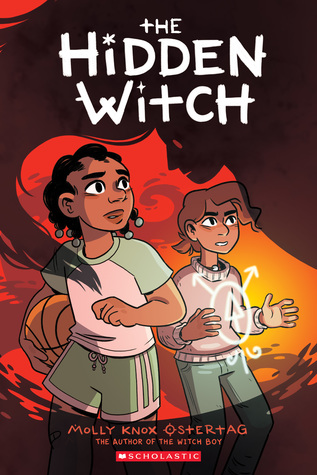 Book cover showing two characters, one with a basketball, the other wish a symbol displaying over her torso.