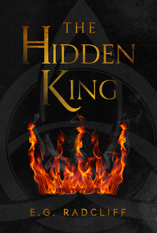 Book cover showing flames.