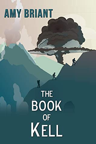 Book cover showing 3 people hiking up a mountain.