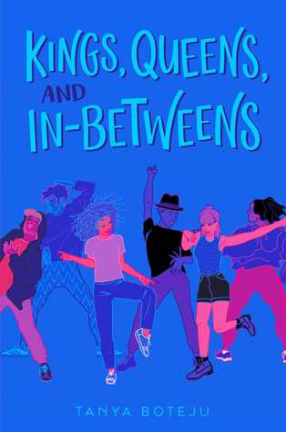 Book cover showing people dancing.