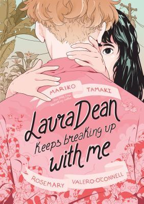 Book cover showing two drawn characters about to kiss.