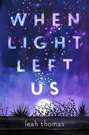 Book cover showing a pattern of lights in the sky at dusk.