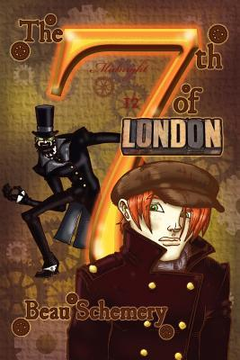 Book cover showing a boy in a peacoat and cap, and a sinister figure wearing a top hat.