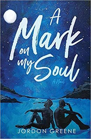 Book cover showing two seated figures, back-to-back, under a night sky.