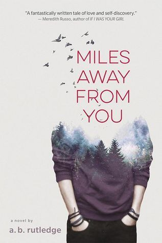 Book cover showing a teen with hands in pockets, birds and treetops obscuring the head.
