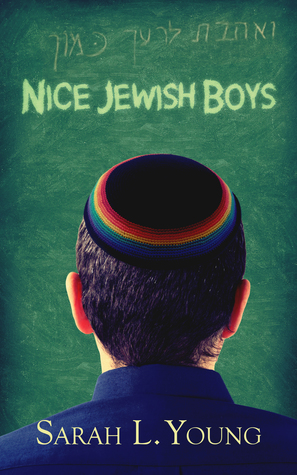 Book cover showing boy wearing rainbow yarmulke.