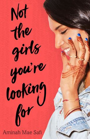 Book cover showing girl with hennaed hands and blue nail polish.