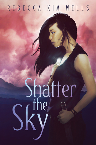 Book cover showing girl in black dress with a knife.