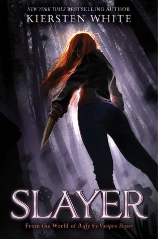 Book cover showing a girl in the woods with a knife.