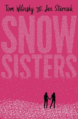 Book cover showing two figures holding hands in the snow.