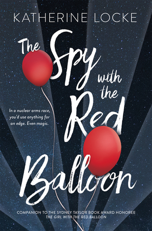 Book cover showing red balloons in a spotlight against a night sky.