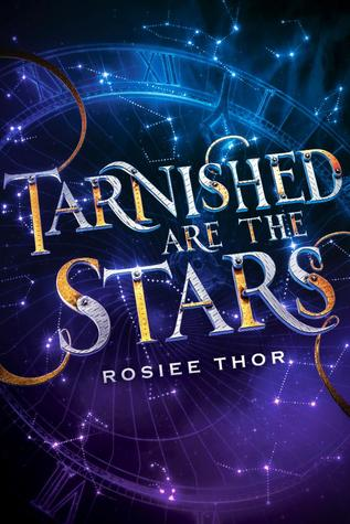Book cover showing constellations in space.