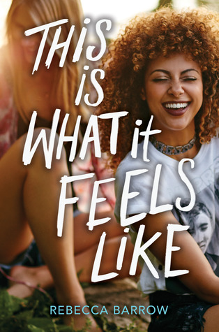 Book cover showing a girl laughing, sitting with friends.
