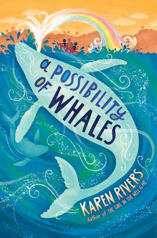 Book cover showing a whale spouting a rainbow onto boaters.