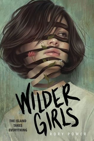 Book cover showing a girl's face divided into strips.
