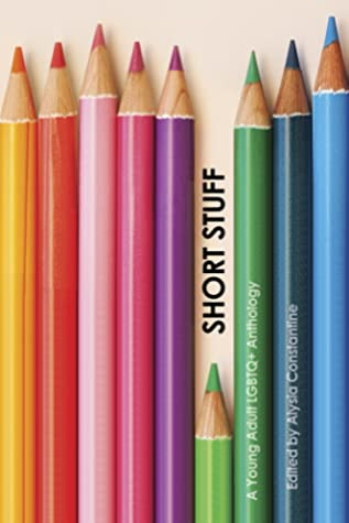Book cover showing different colored pencils.