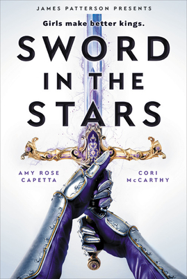 Book cover showing armored hands gripping a sword.