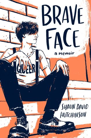 Book cover showing a drawn character wearing a shirt that says Queer.