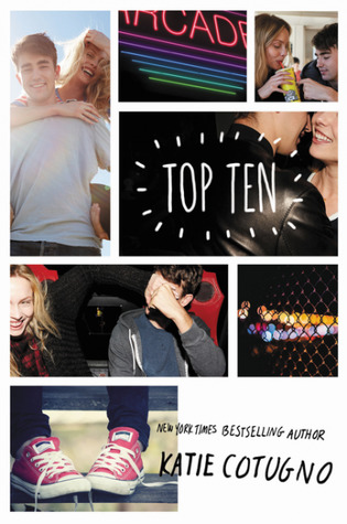 A photo collage of a white boy and girl being playful and flirty