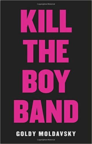 The cover is black with bright pink letters.