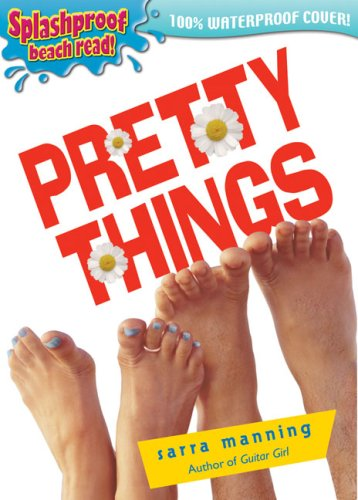 Two pairs of feet, one with blue toenails and a teo ring