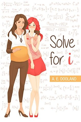 Two girls stand on the cover.  One with light brown skin and brown hair and one with pale skin and red hair.  The are holding hands.