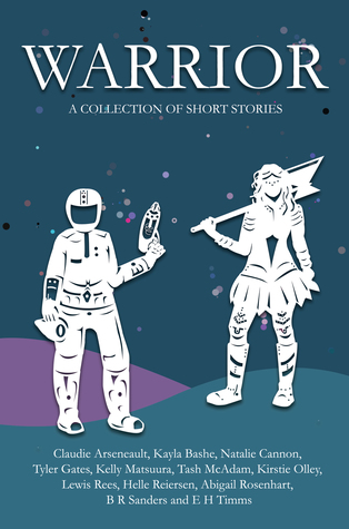 a space person and a person in a skirt, boots holding an ax are on the cover.