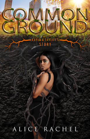 a girl with brown skin and long black hair looks over her shoulder.  She is surrounded by roots.