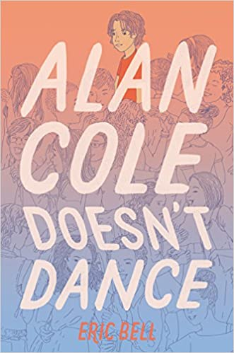 Book cover showing boy on crowded dance floor.