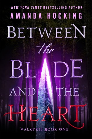 Book cover showing a blade in the forest.