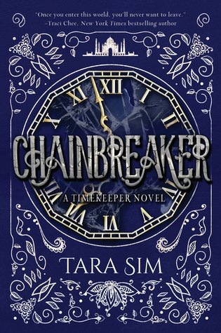 Book cover showing a clock with Roman numerals.
