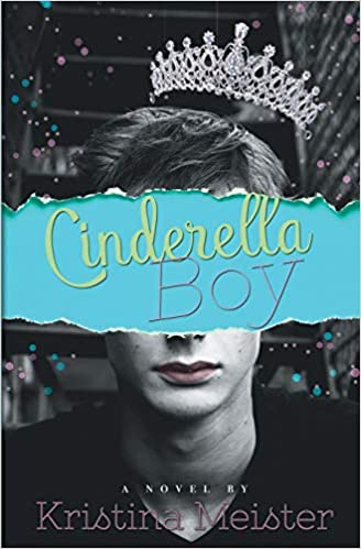 Book cover showing a boy with a crown hovering above him.