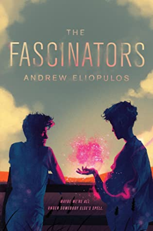 Book cover showing two people, one with a pink cloud over their outstretched hand.