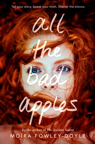 Book cover showing girl with lots of red hair.