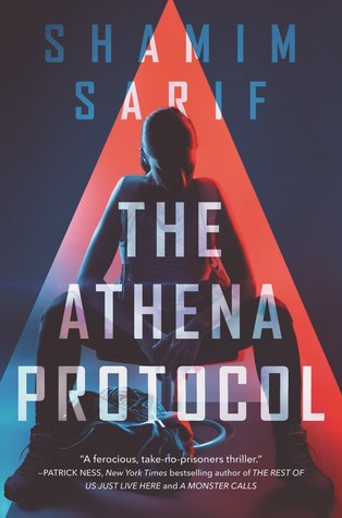 Book cover showing a person in a chair in a cone of light..